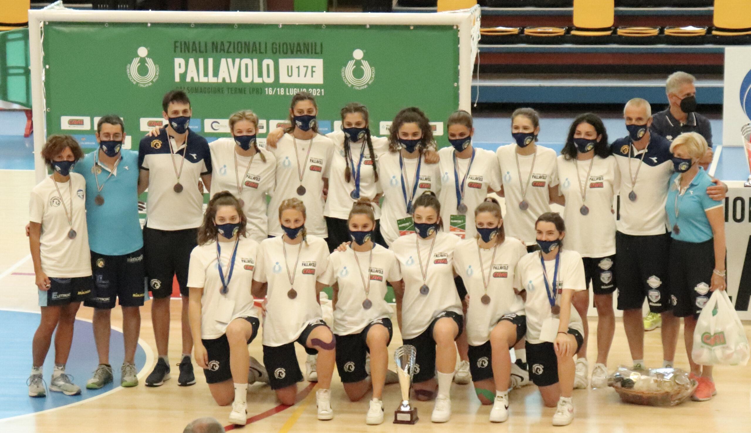 Read more about the article 2020 – 2021 una stagione da ricordare : 5 titoli e 3e in Italia nel Volley Femminile Giovanile